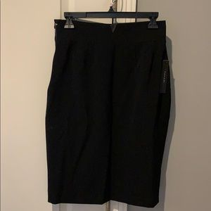 Black T Tahari skirt